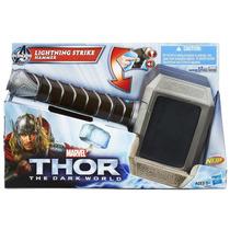 Martelo Thor C/ Som E Luz - Original Hasbro Marvel