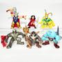 Thor Super Hero Squad - Sif Loki Destruidor Odin G. Frost