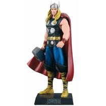 Boneco Miniatura - Thor Marvel - Eaglemoss + Revista