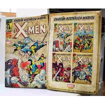 Coleção Histórica Marvel X-men Completa Box Exclusivo