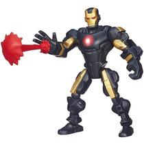 Promoção Boneco Marvel Super Hero Mashers Homem De Ferro
