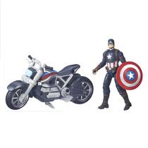 Boneco Capitão América Marvel Legends Civil War Hasbro