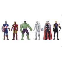 Marvel Avengers 30cm Captain Hulk Iron Thor Ultron Kit C 6