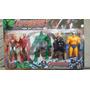Kit 5 Bonecos Vingadores Articulados Thor Iron Man Hulk 15cm
