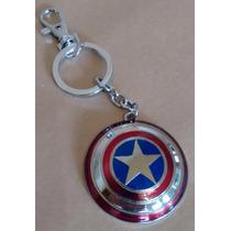 Chaveiro Marvel Avengers Vingadores Escudo Capitão América