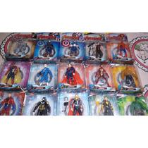 Kit Com 5 Bonecos Vingadores Marvel Avengers Age Of Ultron