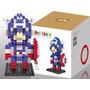 Heróis - Blocos Estilo Lego Loz - Capitão América