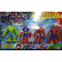 Kit Super Heróis Márvel Vingadores C/ 4 Bonecos Avengers
