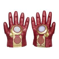 Luvas Eletrônica Com Efeitos Especiais Iron Man B0429 Hasbro