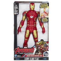Iron Man Mark 43 Avengers Titan Hero Tech Eletrônico Hasbro