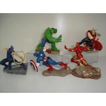 Gavião Arqueiro Iron Man Capitão América Hulk Thor Marvel