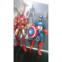 Vigadores - Capitão America + Homem De Ferro ( 2 Peças)