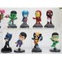 Miniaturas Heróis Marvel E Dc Kit C/ 8 Peças Pronta Entrega