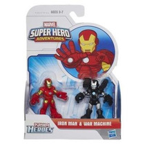 Playskool Heroes 2-pack - Iron Man & War Machine - Hasbro