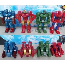 Bonecos Heróis Transformers + Máscara ( Escolha Já Seu Kit )