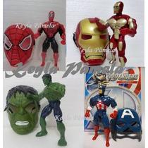 Boneco Opção Hulk Capitão America Aranha Ou Ferro