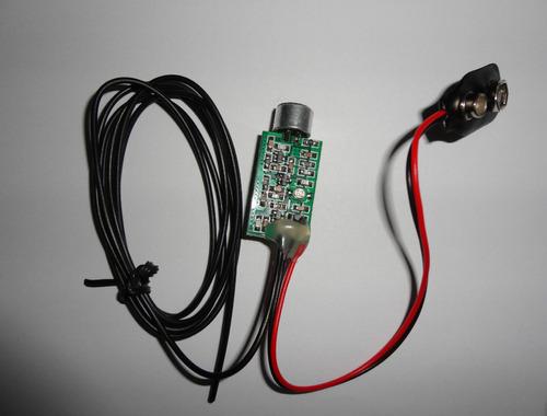 Super Mini Micro Escuta Espiã Fm Espionagem Conversa Voz Som