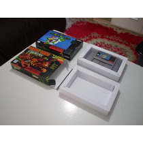 Caixas De Jogos Snes, Nes, N64, Master, Mega, Atary, Gb, Gba