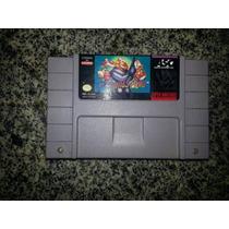 James Pond Super Nintendo Original - Jogo Snes