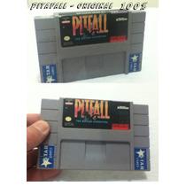 Fita Original Americana Super Nintendo Pitfall 100%