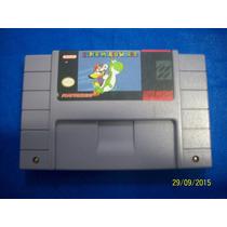 Linda Mario World Original Super Nintendo Americana Rara