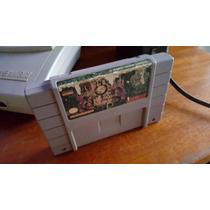 Ultimate Mortal Kombat 3 Para O Super Nintendo Funcionando