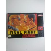 Caixas De Fitas De Super Nintendo Final Fighter