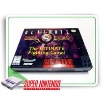 Snes Mini Caixa Ultimate Mortal Kombat 3 Super Nintendo