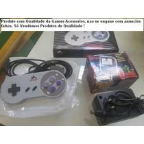 Kit Super Nintendo 12 Controles + 5 Fontes Lacrados Na Caixa