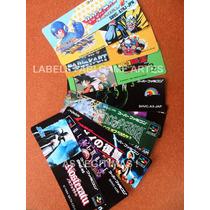Etiquetas (labels) Para Cartuchos Super Famicom - Jap/euro