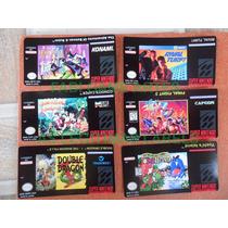 Etiquetas Cartuchos Super Nintendo - Label (extra Qualidade)