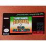 Labels - Super Mario World + All-stars - S-nes -tenho Várias