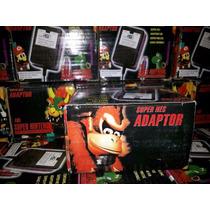 Kit Super Nintendo 1 Controle+1 Cabo Av + 1 Fonte