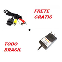 Kit Fonte + Cabo Av +frete Gratis Todo Brasil Super Nintendo