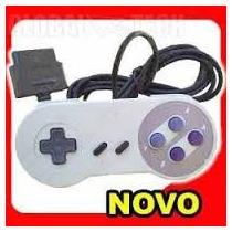 Controle Super Nintendo Snes Super Famicom Zerado!