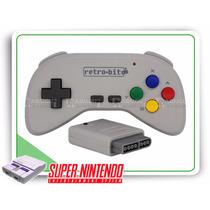 Snes Controle Sem Fio Retro-bit Para Super Nintendo