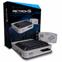 Retron 5 + Super Mario World