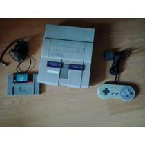 Super Nintendo +2 Controles Originais + Super Mario World
