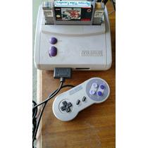 Super Nintendo Baby 1controle E 1 Fita