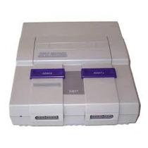 Console Super Nintendo Funcionando Perfeitamente!!!