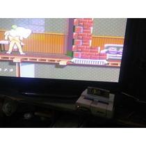 Super Nintendo Com 3 Fitas