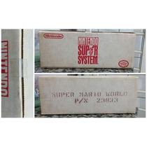 Nintendo Super System - Jogo Super Mario World (arcade)