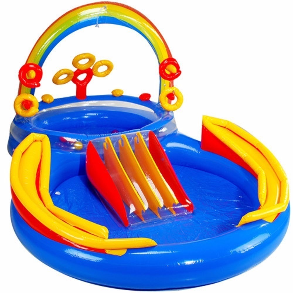 Super piscina infantil playground r 450 00 no mercadolivre for Piscina infantil