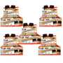 5x Iron Man Power Protein Bar 12 Barras New Millen-amendoim