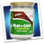 Óleo De Coco Natural 500g Copra - Com Frete Grátis + Brinde