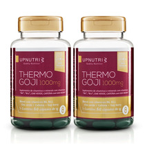 2 Thermo Goji C/60 Caps De 1000mg - Up Nutri