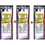 Kit Albumina(clara Ovo) 1,5kg 3 Pacotes 500 Gr 81% Proteina