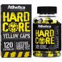 Hard Core Yellow 120caps - Queimador Atlhetica Emagrecedor