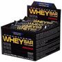 Barra De Proteina Whey Bar - Probiótica Cx C/ 24un Morango