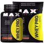 Combo Whey Pro Refil 2,500g - Max Titanium Vitamina De Fruta